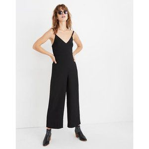 Madewell Black Cami Jumpsuit Plus Sized 20 - NWT